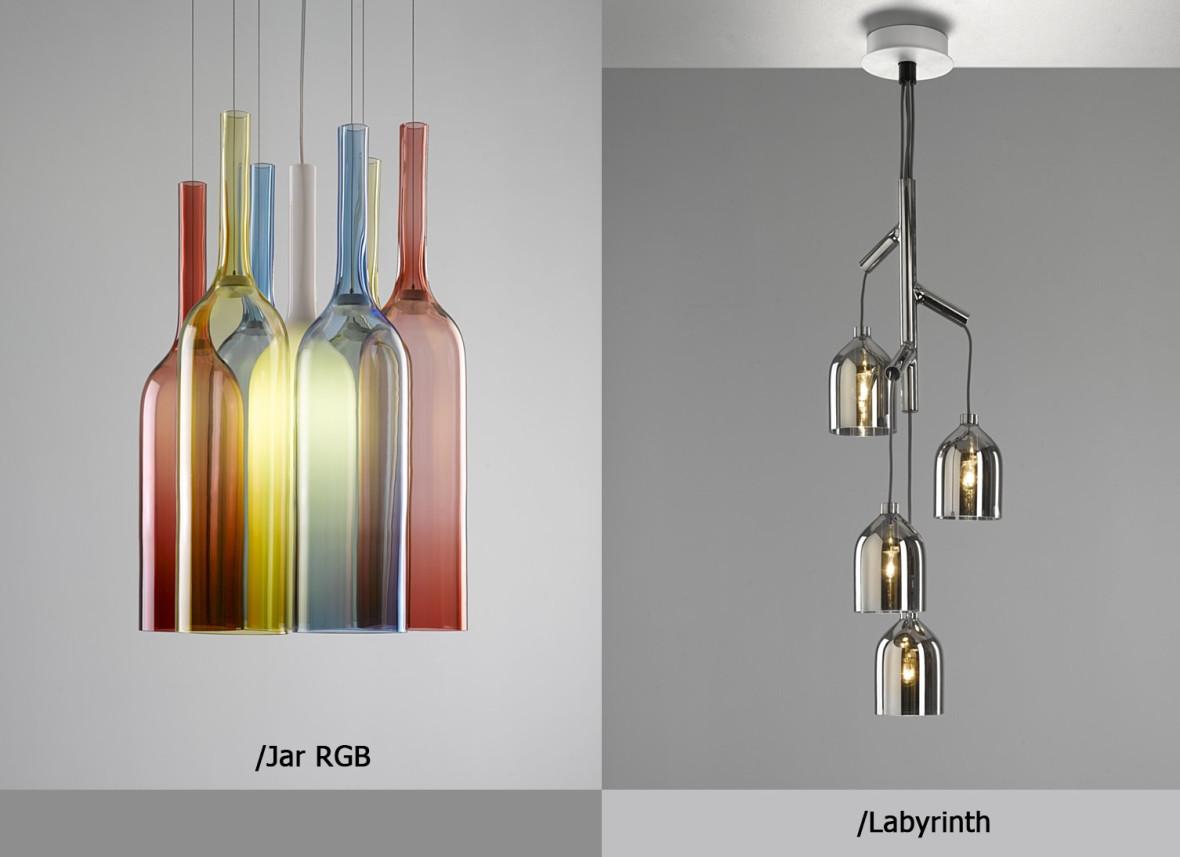 светодиодные светильники-Lasvit-jar-rgb