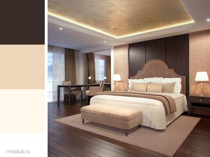 спальня-в-коричневом