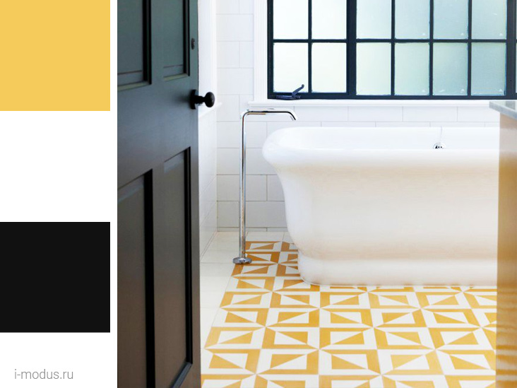 желтый-в-ванной