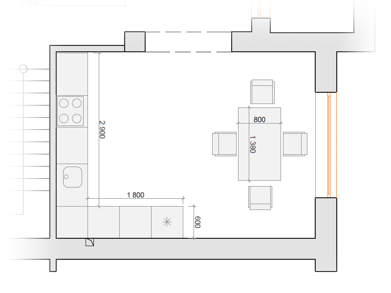 планировка-кухни-проект-фото