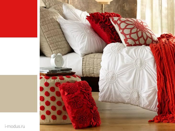 спальня-в-красном-цвете