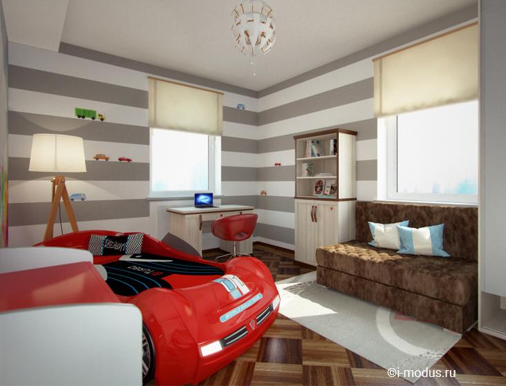 кровать-машина-красная-cilek