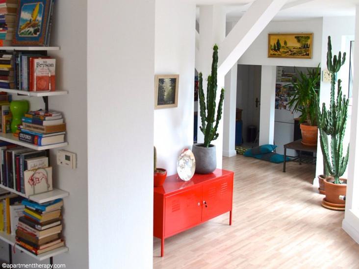мебель-красного-цвета-в-интерьер