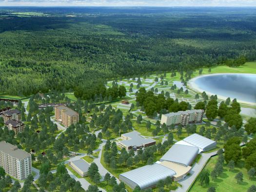 Проект коттеджного поселка в Московской области