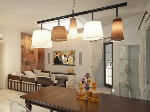 Дизайн трехкомнатной квартиры в Туле