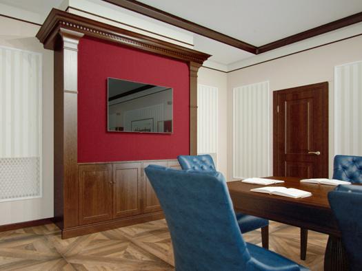 Дизайн офиса компании в Туле