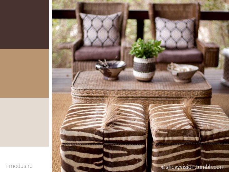 коричневые-цвета-стиля