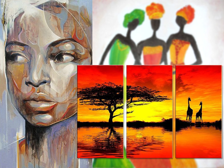 картины-в-африканском-стиле