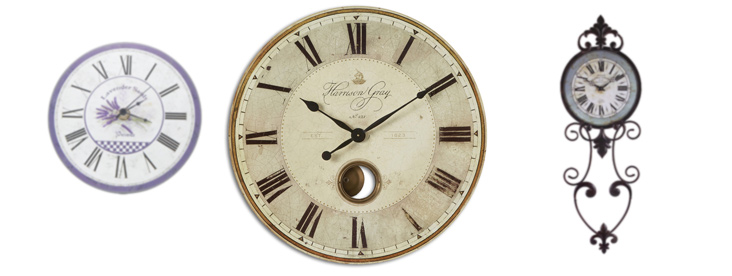 часы-настенные-в-стиле-прованс
