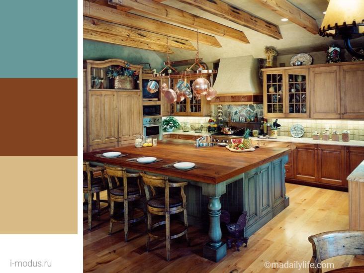 кухня-кантри-фото