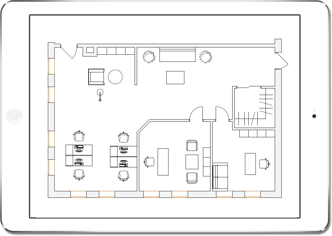 план офиса 100 квм